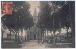 CARTE POSTALE LE POINCONNET L EGLISE INDRE ED. GG CHATEAUROUX N° 983 - France