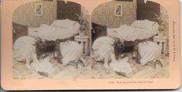S0579 - Photo B.W. KILBURN - LITTLETON - ETATS-UNIS - S'assurer Que La Côte Est Claire - Stereoscopio