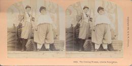 S0581 - Photo B.W. KILBURN - LITTLETON - ETATS-UNIS - Femmes Exposition ATLANTA - Stereoscopio