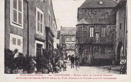 VAUVILLERS - MAISON NATALE DU CARDINAL SOMMIER - ARCHEVÊQUE DE CÉSARÉE ( Peu Courante ) - Autres Communes