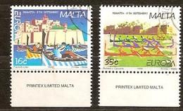 Cept 1998 Malta Malte Yvertn° 1015-16  (°) Used Oblitéré  Cote 4 Euro - Malta