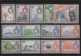 TRISTAN Da CUNHA - YVERT N°14/27 * MH - COTE = 175 EUR. - Tristan Da Cunha