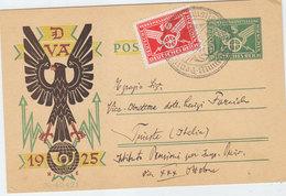 GERMANY DEUTSCHEIS REICH POSTAL CARD 1925 - Brieven En Documenten