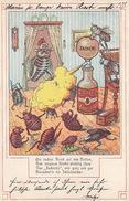 Zacherl - Insektizid-Werbung Mit Spruch - 1900    (170618) - Werbepostkarten