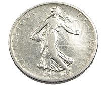 1 Franc  - Semeuse  - France - 1901 - Argent  - TB+ - - H. 1 Franc