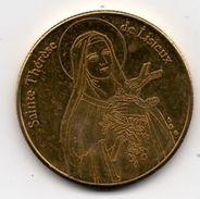 Lisieux 14 : Sainte Thérèse (Médaille De Collection) - Touristiques
