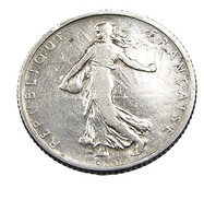 1 Franc  - Semeuse  - France - 1904 - Argent  - TB+ - - H. 1 Franc
