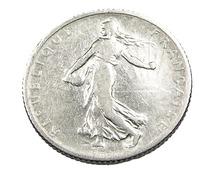 1 Franc  - Semeuse  - France - 1905 - Argent  - TB+ - - H. 1 Franc