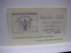 BOLZANETO  -- GENOVA  ---  ESNALDO  BELI  -- PRODOTTI GOMMATI  EXCELSIOR - Genova (Genoa)