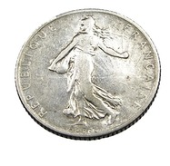 1 Franc  - Semeuse  - France - 1910 - Argent  - TB - - H. 1 Franc