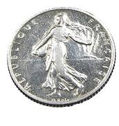 1 Franc  - Semeuse  - France - 1910 - Argent  - TTB - - H. 1 Franc