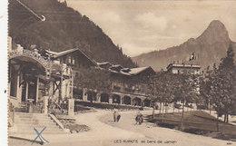 Les Avants Mit Ambulantstempel Der Montreux-Zweisimmenbahn - 1925      (P-56-50707) - VD Vaud