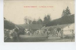 SAINT SEINE L'ABBAYE - La Brasserie , Les Ecuries - France