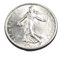 1 Franc  - Semeuse  - France - 1914 - Argent  - TTB+ - - H. 1 Franc