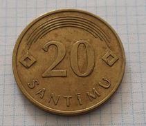 Latvia 20 Santims 2009 - Letonia