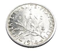1 Franc  - Semeuse  - France - 1914 - Argent  - Sup - - H. 1 Franc