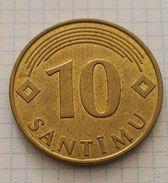 Latvia 10 Santims 2008 - Letonia