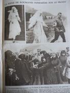 Militaria W1 , La Reine Marie De Roumanie Infirmiére Sur Le Front 1917 - Documents Historiques