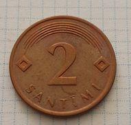 Latvia 1 Santimi 2009 - Letonia