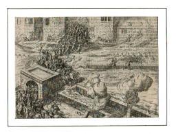 Antwerpen 1575 - Uitval Vanuit De Citadel Door Frans Hogenberg - Cartes