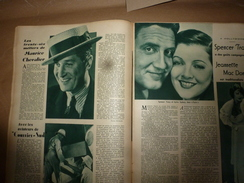 1936Ciné-Miroir N° 607 : Les 36 Métiers De MAURICE CHEVALIER ;  CESAR Film De Marcel Pagnol Avec RAIMU;etc - Boeken, Tijdschriften, Stripverhalen
