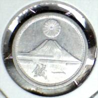 ***CHECKOUT SPECIAL!*** 1941-43, JAPAN, ONE RANDOM HIGHER GRADE MT. FUJ, 1 SEN COIN (SHOWA) *SEE PHOTOS* - Japan