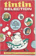 TINTIN SELECTION  N° 10   -  DARGAUD 1971 ( MAGELLAN / CAPITAN ) - Tintin