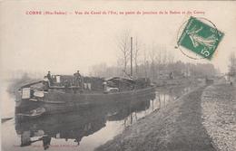 CORRE (70) Vue Du Canal De L'Est, Au Point De Jonction De La Saone Et Du Coney - Autres Communes