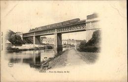 49 - SEGRE - Carte Nuage - Pont De Chemin De Fer - Segre