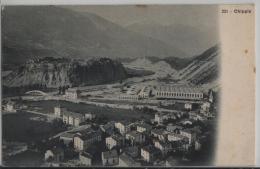 Chippis (Valais) Vue Generale - Photo: J. Ruggeri - VS Valais