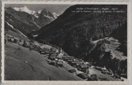 Vallee D'Anniviers - Ayer - Vue Sur Le Rothorn, Moming, Le Besso, Le Gabelhorn - Photo: Perrochet No. 10376 - VS Valais