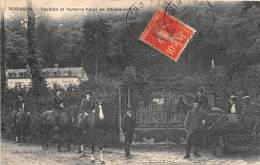 92 - HAUTS DE SEINE / Plessis Robinson - Pavillon Et Parterre Fleuri De Chateaubriand - Beau Cliché Animé - Le Plessis Robinson