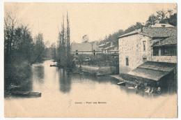 CPA - CIVRAY (Vienne) - Pont Des Barres - Civray