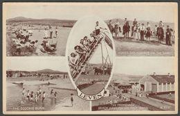 Multiview, Leven, Fife, C.1950 - Valentine Postcard - Fife
