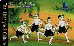 TELECARTE THAILANDE THAI FOLK TOY - Thaïlande