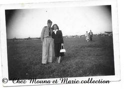 DIJON 20 JUIN 1954 - MEETING AERIEN - COTE D OR - PHOTO MILITAIRE - Guerre, Militaire