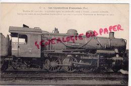 CHEMINS DE FER - LOCOMOTIVES FRANCAISES- MACHINE N° 140-1360- CONSTRUITE EN AMERIQUE EN 1917 - Matériel