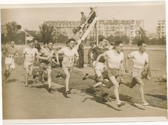 Photo De Presse 1929, Stade Jean Bouin - Course Du 3000 Mètres - Sports