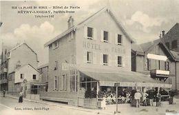- Pas De Calais -ref-A796- Berck - La Plage - Hotel De Paris - Betry Leguay Propr. - Hotels Et Restaurants -voir Etat- - Berck
