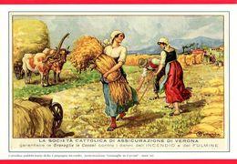 ITALIA - Società Cattolica Assicurazione - Locandina Da Calendario - Affiches