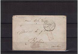 CTN50 - ARMEE DE LA LOIRE 15/12/1870 - Postmark Collection (Covers)
