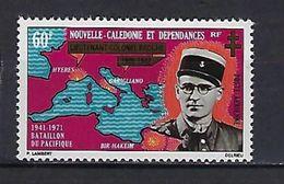 """Nle-Caledonie Aerien YT 121 (PA) """" Bataillon Du Pacifique """" 1971 Neuf** - Luftpost"""