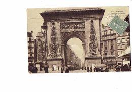 Cpa - 75 - PARIS - La Porte Saint Denis - N°16 LIP - Cinématographique - 1924 - Animation - Sonstige