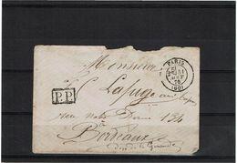 CTN50 - PARIS 31/8/1870 - Postmark Collection (Covers)
