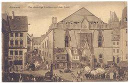 Cpa Allemagne - Alt-Mainz - Das Ehemalige Kaufhaus Auf Dem Brand - Allemagne
