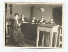 Photographie  Dieuze 57 Moselle - Dieuze Tribunal Cantonal Justice 1920-25 Photo 9x12 Cm - Lieux