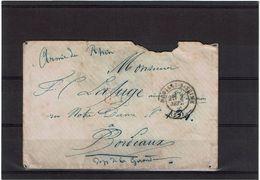 CTN50 - ARMEE DU RHIN NEUILLY S/SEINE 7/9/1870(?) - Storia Postale