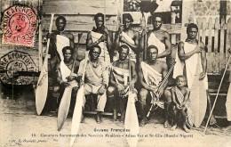 Guyane Française - Canotiers Saramacas Des Sociétés Minières - Adieu Vat Et St. Elie - Voir Oblitérations - Autres
