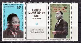 Cameroun PA 154A 154B Pasteur Martin Luther King Et Surcharge Surchargé Premier H  Neuf ** TB MNH Sin Charnela Cote  122 - Kameroen (1960-...)