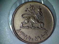 Ethiopie 5 Cents 1936-1944 - Etiopia